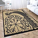☝Sizes:5x7 ft (60x84 inches),large area rugAfter several washings and drying. Includes a square area rug and single-sided print. The perfect size and value are large enough for your bedroom. ☝Material: The high-quality bedroom rug is made of high-qua...