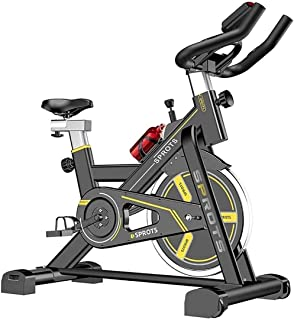 RSBCSHI Interior Bike Exercise Unisex Bicycle with Speed Resistance Weight Loss Fitness Equipment Cycling Home Office Ex...