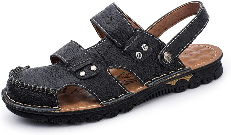Flip-Flops Outdoor Sports Sandalsmen'S Sandals_Summer Men's Sandals Slippers Outdoor Skin