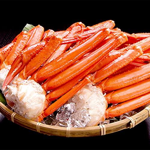 ハイクラス 天然 ズワイガニ 足 5〜8肩 北海道より発送 贈答 ギフト 厳選 ずわい蟹 約2kg
