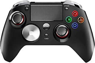 Elite Ps4 Controller with Back Paddles, PC Gaming Elite Controller, Wireless, Includes Elite Buttons and Paddles, Android Gaming Controller (Black)