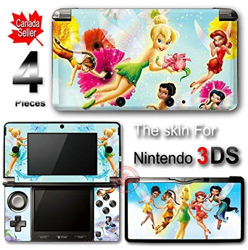 Tinkerbell SKIN VINYL STICKER DECAL COVER for Nintendo 3DS