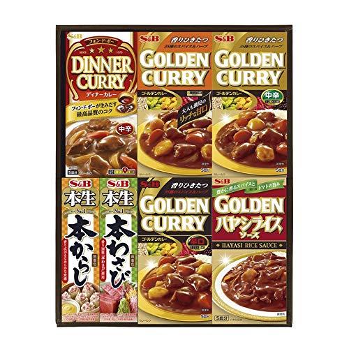 エスビー食品 バラエティギフト BU-15 14501 【レトルトカレー ギフト セット ギフトセット 詰め合わせ】