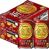 [Amazon限定ブランド] 【新ジャンル/第3のビール】2ケースまとめ買い サントリー 金麦 ゴールドラガー [ 350ml×48本 ]
