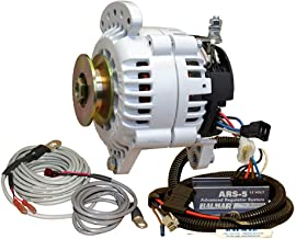 Balmar 60 Series Alternator - Saddle Mount(Dual Foot) Charging Kit - 100A - 12V
