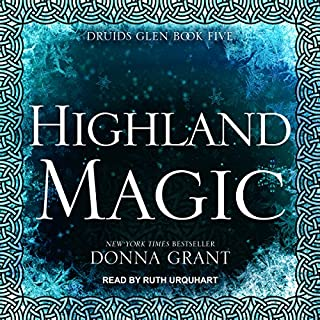 Highland Magic audiobook cover art