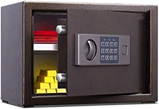LLRYN Digital Safe-Electronic Steel Safe with Keypad,Jewelry, Passports-for Home, Business or Travel by