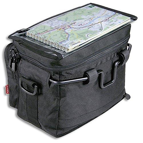 KLICKfix Lenkertasche Daypack, Schwarz, one size