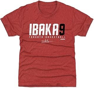 500 LEVEL Serge Ibaka Toronto Basketball Kids Shirt - Serge Ibaka Elite