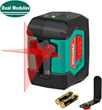 Laser Level, HYCHIKA 50 Feet Line Laser with Dual Modules, Switchable Self-Leveling..