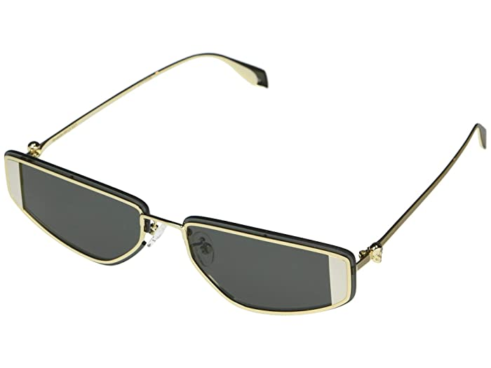 Alexander McQueen  AM0220SA (Gold) Fashion Sunglasses