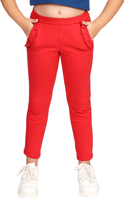 CAOMP Girls Fleece Winter Cozy Stretch Popular overseas Legg Pants Organic Cotton Max 51% OFF