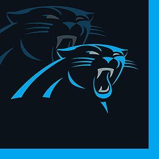 Creative Converting 16 Count Carolina Panthers Beverage Napkins - 659505