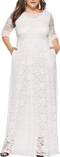 Best 3 4 length lace dress Reviews