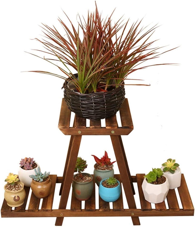 Flower Stands for Living Room Wood Succulent Plants Flower Pot Holder