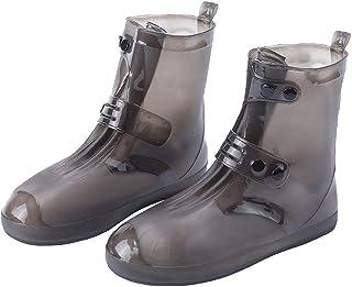 NCONCO Protectores elásticos impermeables del zapato del overshoe del silicón para los hombres mujeres al aire libre