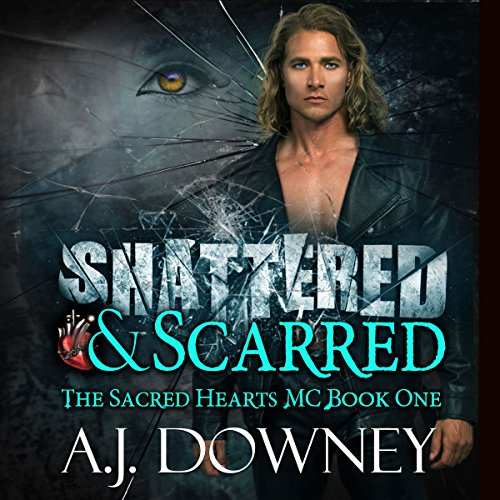 Shattered & Scarred audiobook cover art