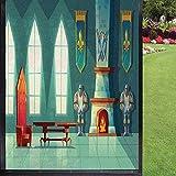 Película antideslumbrante para ventana de chimenea, para puerta de cristal, casa Ofiice, multicolor 60 x 90 cm