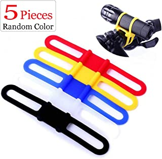 silicone bike light strap
