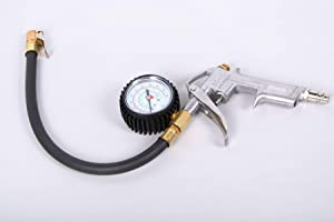 Grodenberg Professional Tyre Inflator Gun with Pressure Gauge