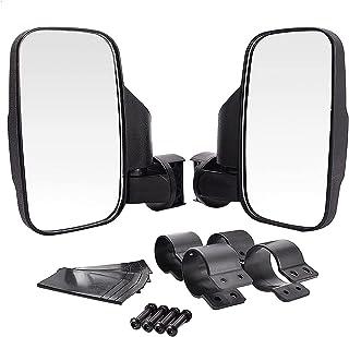 OUZHOU Blind spot speglar för bilar bil backspegel stötsäker sidospegel tillbehör 4 cm och 5 cm rullbur för Polaris Rzr 80...