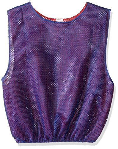 BSN Youth REV Scrimmage Weste, Unisex, Royal/Red