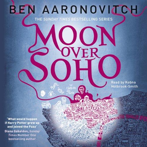 Moon Over Soho audiobook cover art