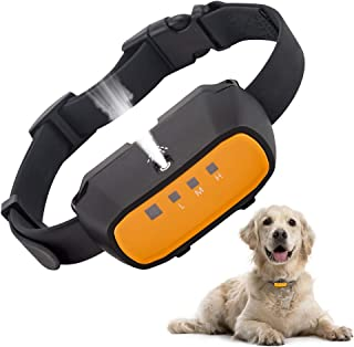 Citronella Spray Bark Collar, Automatic Training Bark Collar Rechargeable Citronella Anti-Bark Collar for Dogs Small Mediu...