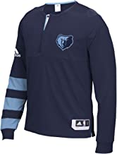 adidas Memphis Grizzlies 2016 NBA Men's On-Court Authentic L/S Shooting Shirt