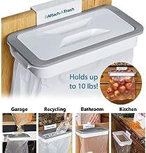 Gopal Enterprise Plastic, Transparent Attach Hanging Trash Bag Holder for Garbage in Kitchen.