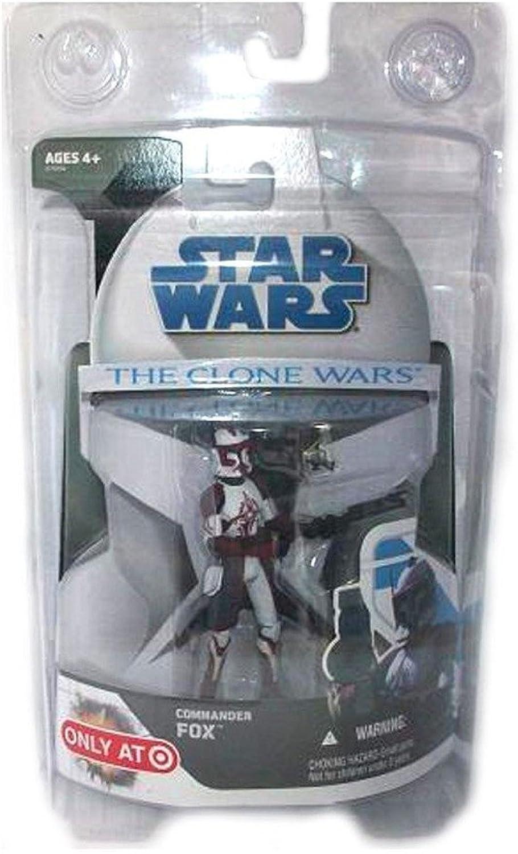 Star Wars - COMMANDER FOX - The Clone Wars - Hasbro