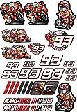 Desconocido stickerpoint24 - Pegatinas con número de Inicio 93 Marc Marquez A4