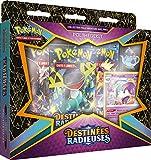 Pokémon EB04.5 Pin's-Destinates Radioses-Poltégeist o Sapereau (Modelo Aleatorio) – Juego de Cartas para coleccionar Sets y Estuches POKEBPIN03