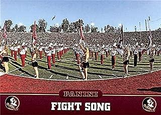 Florida State Seminoles Fight Song football card (Florida State Seminoles) 2015 Panini Team Collection #5