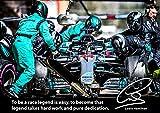 Motivations-Poster Lewis Hamilton 2018# 101 – signiert