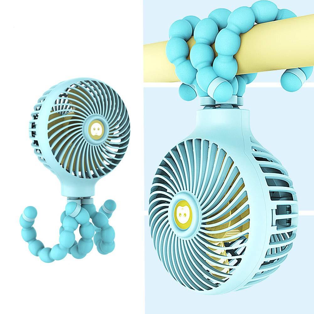 HAODEE Ventilador Bebe Ventilador con Pinza Clip en el Ventilador ...