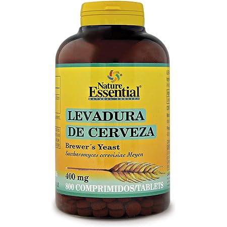 Nature Essential Levadura de cerveza 400 mg - 800 comprimidos ...