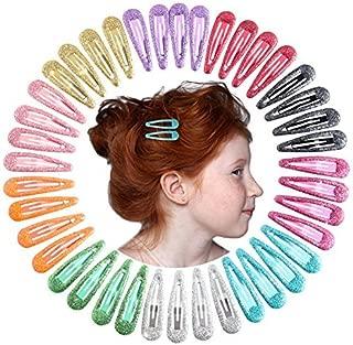 QtGirl Snap Hair Clips 40pcs 2