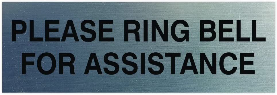 DOOR WINDOW /'PLEASE RING THE BELL/' HANGING SIGN ANY COLOUR