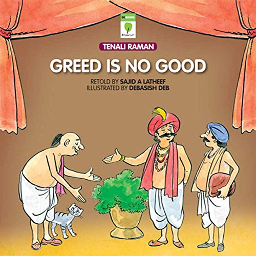Greed Is No Good audiobook cover art