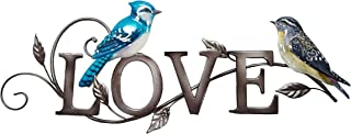 Tin Sign Bird Love