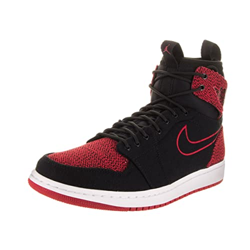 pretty nice 39bdc 45fb8 NIKE Jordan Men s Air Jordan 1 Retro Ultra High Black Gym Red Black