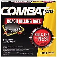 Dial Corp51913Combat Source Kill Roach Traps-8PK LG COMBAT ROACH BAIT (並行輸入品)