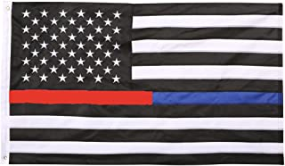 thin red blue line