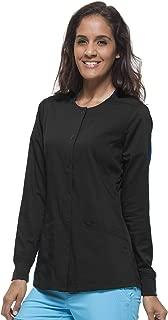 Purple Label Women's Daisy 5063 Snap Button Jacket Scrubs