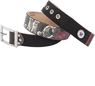 EH3345 Womens Salute Canvas/Leather Belt