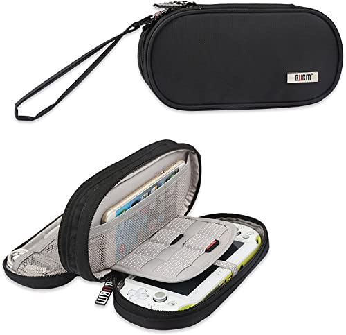 BUBM Double Compartment Storage Case Compatible with PS Vita and PSP, Protective Carrying Bag, Portable Travel Organi...