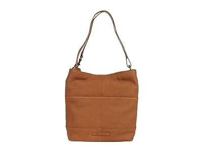 Lucky Brand Lina Small Bucket (Sandy) Handbags