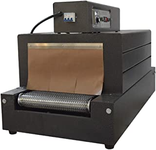 INTBUYING 220V Heat Shrink Packaging Machine Package Conveyer Supplies Tunnels Large Film Shrink Packaging