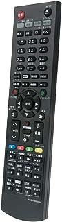 AULCMEET BD・DVDレコーダー用リモコン fit for Panasonic N2QAYB000994 N2QAYB000993 N2QAYB001056 DMR-BRW1000 DMR-BRZ1000 DMR-BRZ2000 DMR-BRW500 DMR-BRZ1010 DMR-BRW1010 DMR-BRW510